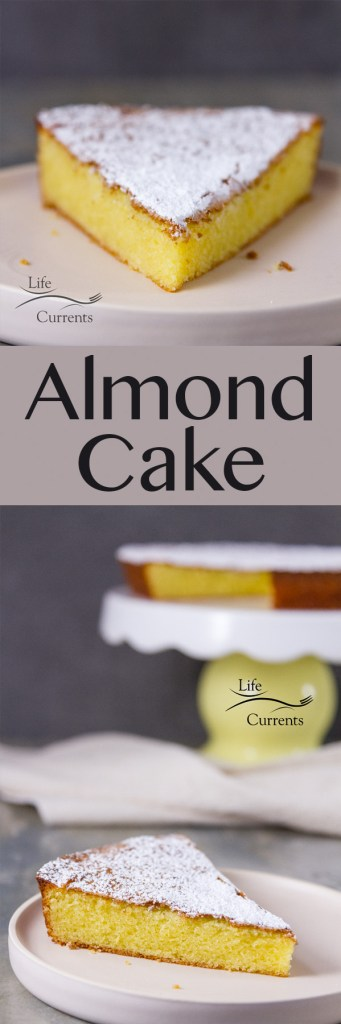 Almond Cake {with a gluten-free option} It's the perfect cake for a lovely dinner party. Or serve it as an afternoon snack with coffee.