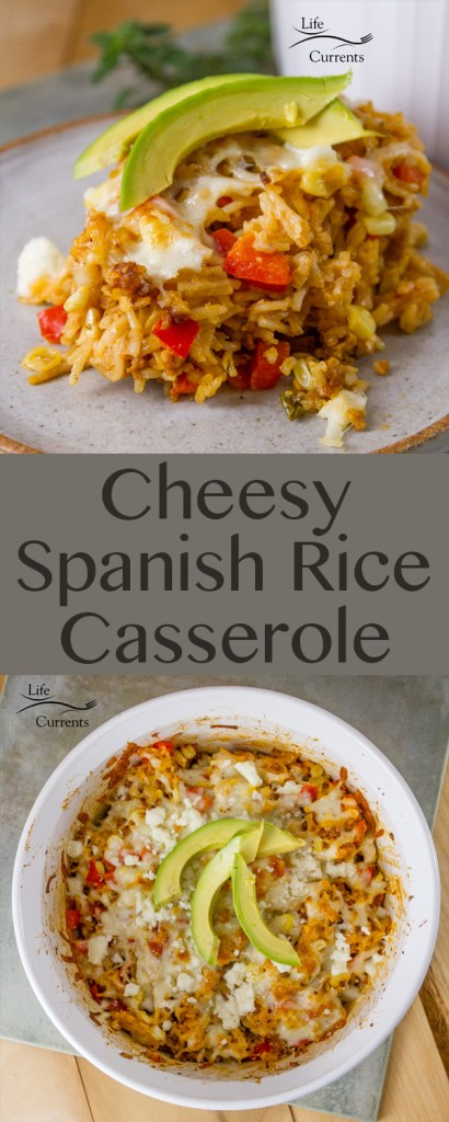 Cheesy Spanish Rice Casserole Recipe This delicious Casserole is great as a quick and easy dinner or 30 minute meal.