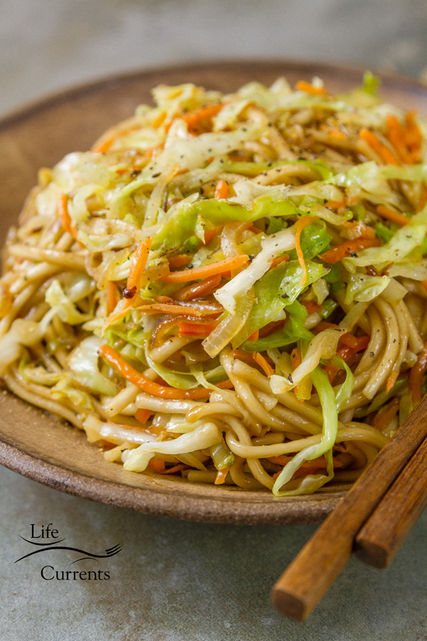 Udon Noodle Salad Serve it hot for a lovely main course, or cold for a great pot luck option. with lots of ideas for adding proteins and veggies