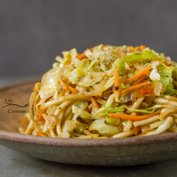 Udon Noodle Salad  This is one of our favorite dinners around here. Easy to make. 30 minute meal. With just a few simple ingredients.