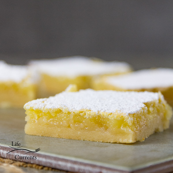 Easy to make, and in my opinion, these are the best Lemon Bars ever.