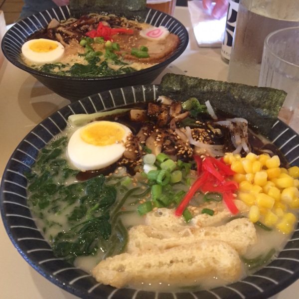 Tow bowls of ramen from Ultra House in Langley