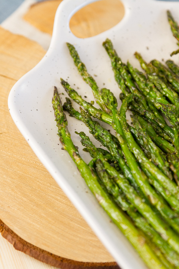Air Fryer Asparagus - Life Currents favorite side dish
