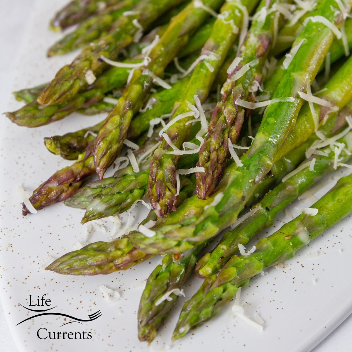 Foil Packet Grilled Asparagus