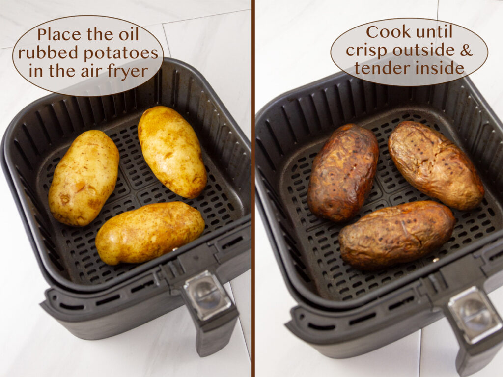 how to make potato skins in the air fryer