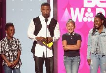 Jamie Foxx at the BET Awards