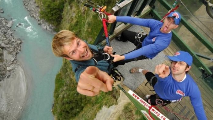Shotover Canyon Swing Queenstown, New Zealand