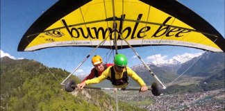 Hang Gliding in the Alps Interlaken, Switzerland
