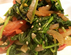 Make those greens more appealing with this quick and easy recipe