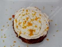 Creamy citrus topped gluten free cake