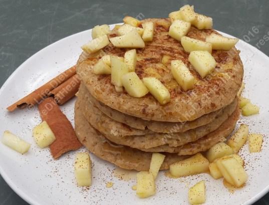 Delicious pancake stack