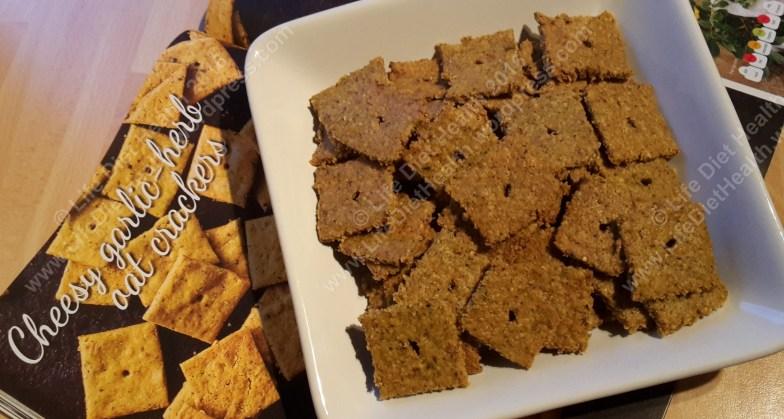 CookVegan Cheesy Crackers
