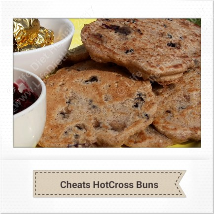Quick and easy healthy hot cross buns!