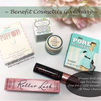 Benefit Cosmetics Giveaway!