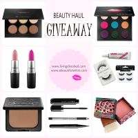 Beauty Haul #GIVEAWAY! Beauty Blogger Collaboration with A Beautiful Whim!