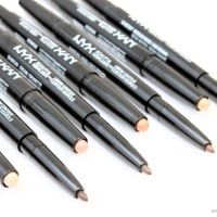 NYX Sculpt and Highlight Brow Contour Review and Swatches