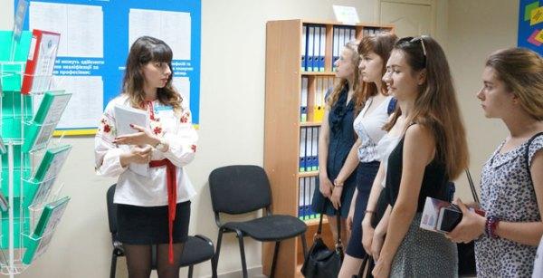 Служба занятости провела пресс-тур в городе Мариуполь ...