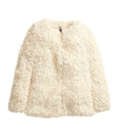 Fake Fur Coat £34.99 H&M