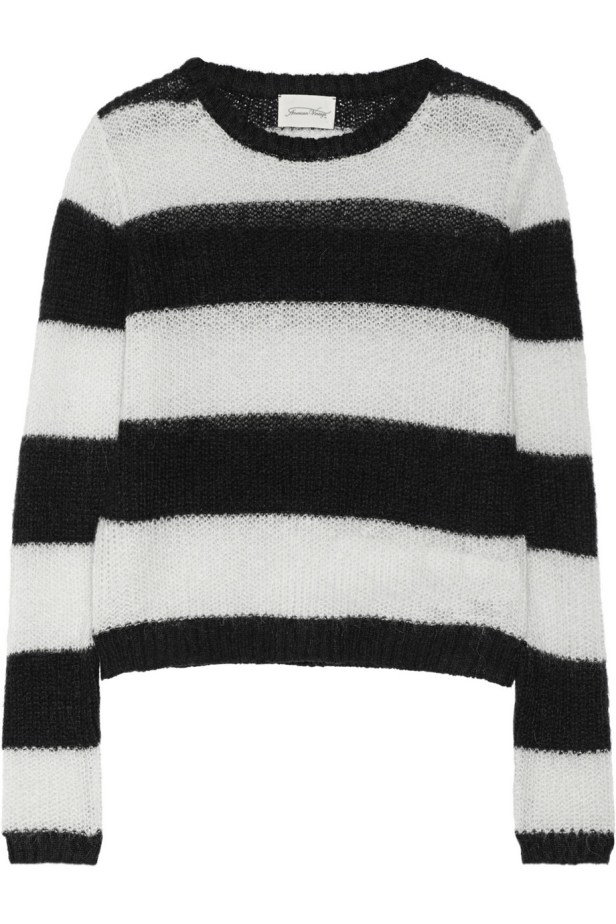 Nashua Striped Knitted Sweater £85 American Vintage at Net-A-Porter