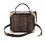 The Trunk Clutch in Pheasant Brown Snake, £495