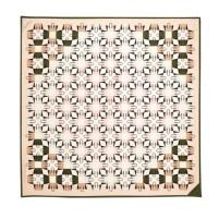The Marylebone Geometric Silk Scarf, £95