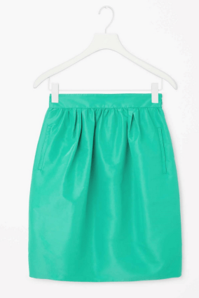 Technical Pleated Skirt £59