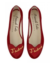 Red J'Adore Flats £180 French Sole