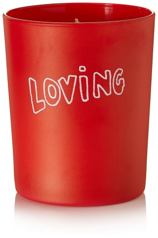 Loving Tuberose and Sandalwood scented candle £38 Bella Freud