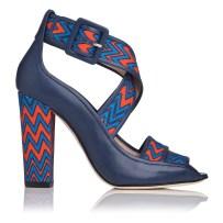 Claudia Canvas Block Heel £295