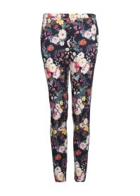 Floral Slim Trousers £34.99 Mango