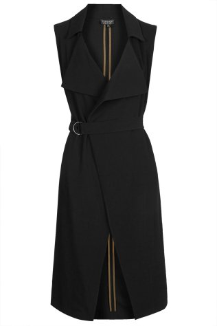 Sleeveless Belted Duster, £65 Topshop