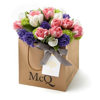 Spend £350 at Mulberry New Bond St between the 12th-14th March and get a Mcqueens bouquet free!