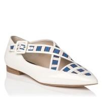 Virna Flat Nappa Leather Sandal £195
