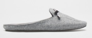 BACKLESS MOCCASIN SLIPPERS £25.99