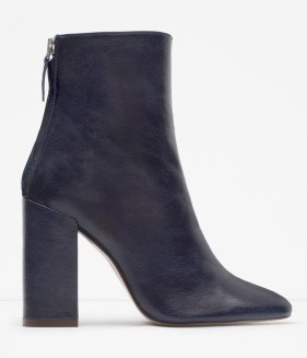 eather Ankle Boots, £79.99 Zara