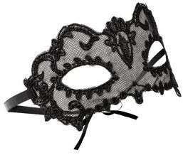 Ophelia Lace Mask, £6, Accessorize