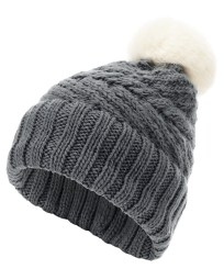 Luxe Knitted Bobble Hat 40