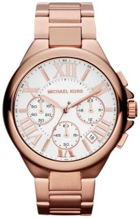 Michael Kors MK5757 Ladies Camille Chronograph Watch, £163 Watch Cabin