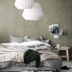 slaapkamer greenery