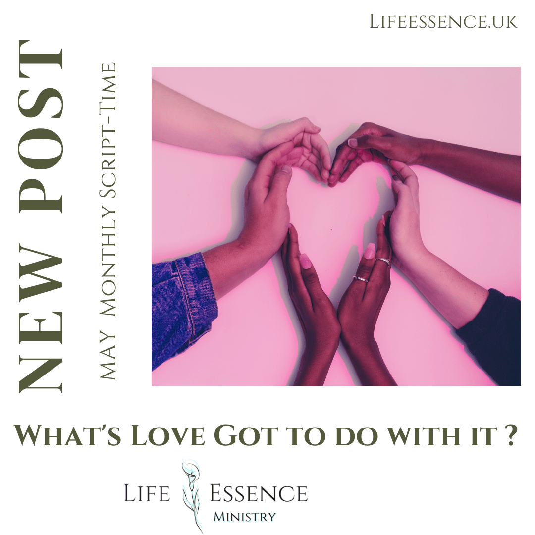 What's Love Got To Do With It? -June Monthly SCRIPT-TIME