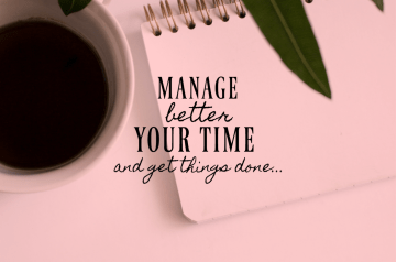 manage better your time