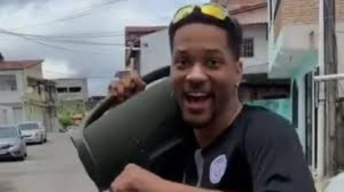Ator americano Will Smith ganha sósia no Brasil