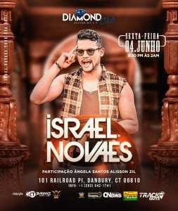 Israel Novaes faz turne internacional nos EUA