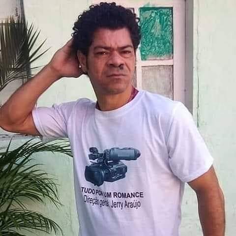 Ator Pierre Araújo que interpretou