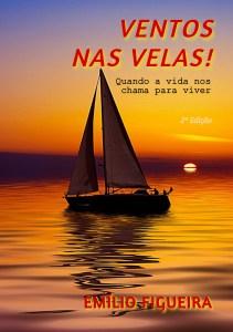"""Emílio Figueira lança livro """"Ventos nas Velas"""""""