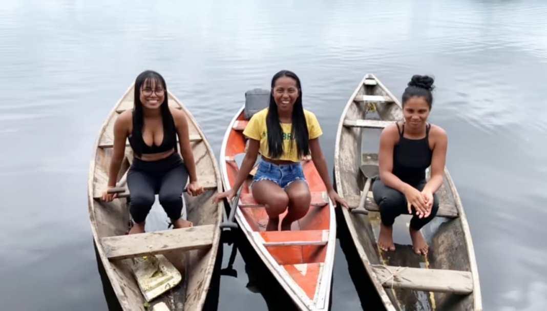 Fabíola e Fabiane, as irmãs ribeirinhas da Amazônia que conquistaram a Web