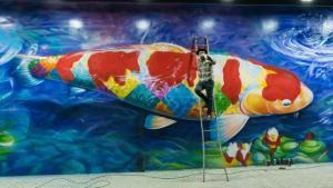 Carpas: Kobra destaca a presença japonesa no Brasil