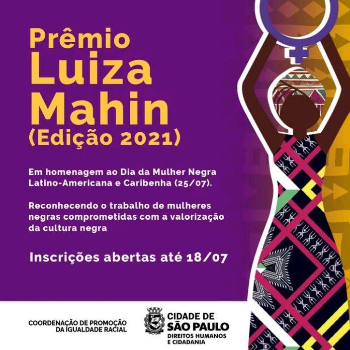 Premio Luiza Mahin - Edicao 2021
