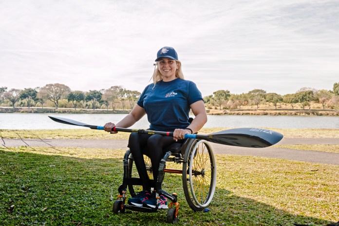 Atleta potiguar que disputa canoagem pelo Paraná nas Paralímpiadas