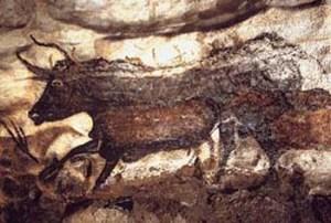 Aurochs, Lascaux Cave paintings (image: public domain)